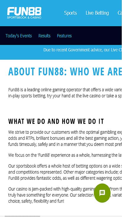 fun88 pomo mobile
