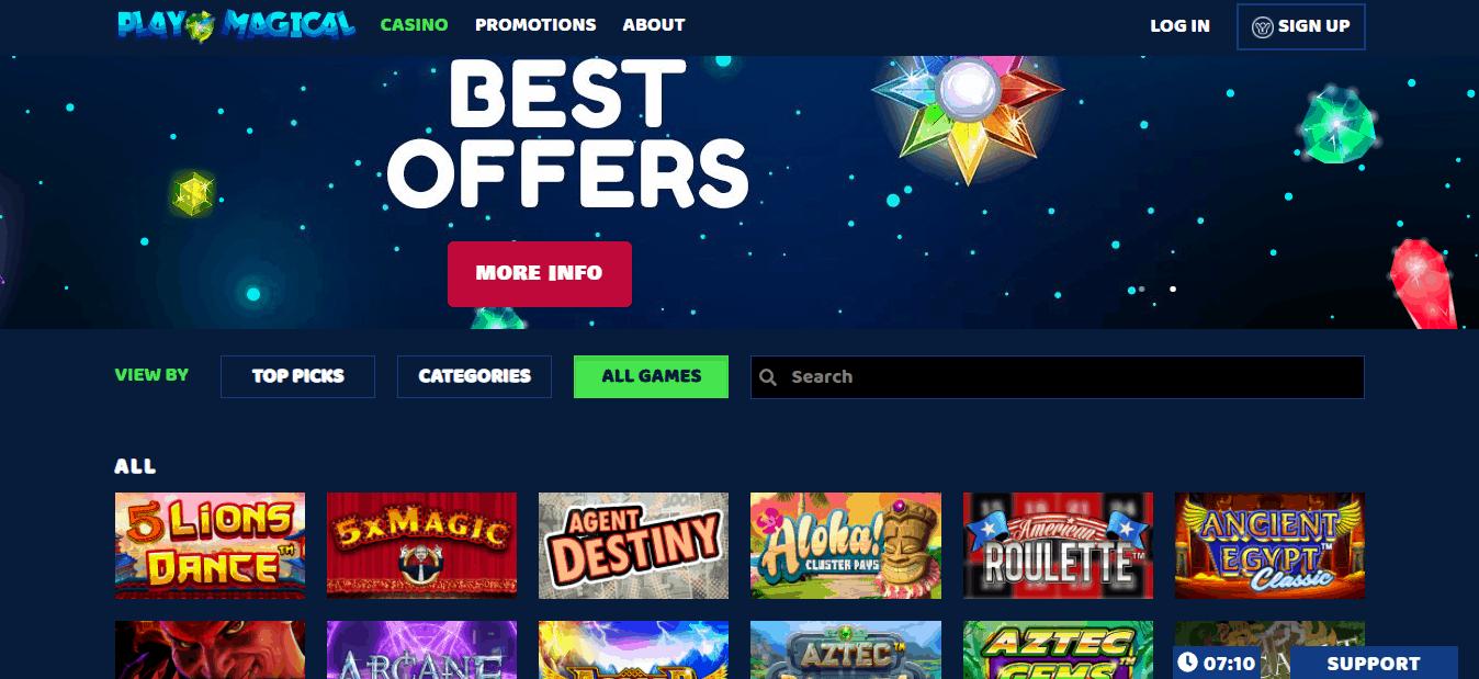 slots rush games