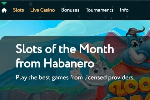 grande vegas casino front image