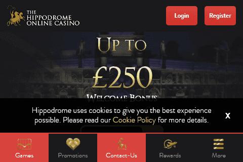 hippodrome online front image