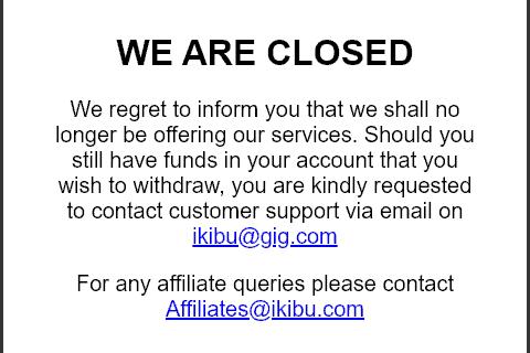 ikibu closed