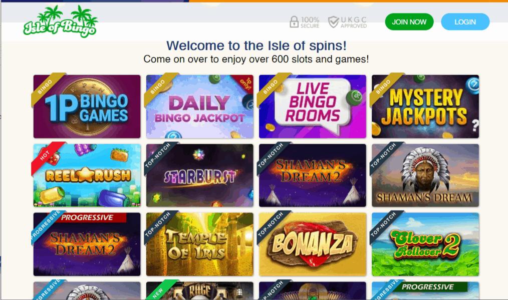 isle of bingo games