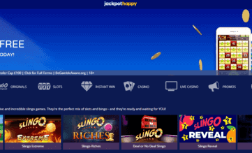 jackpot happy front image
