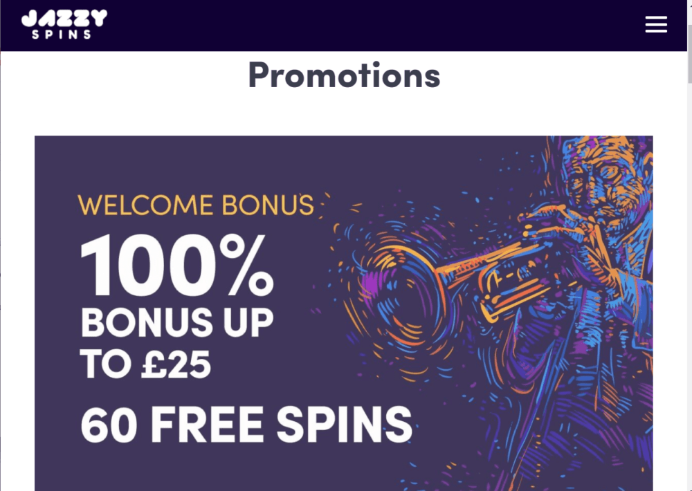 jazzy spins promo