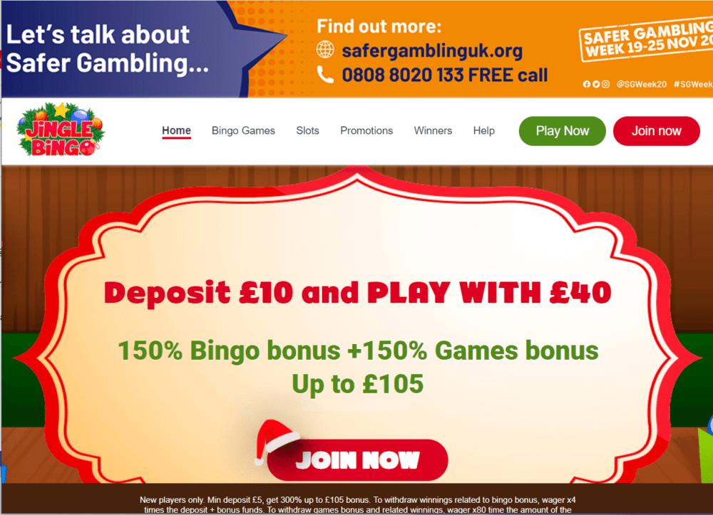 jingle bingo home