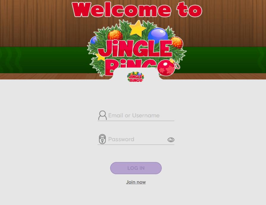 jingle bingo login