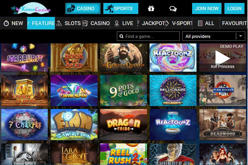 kimo casino Promotions