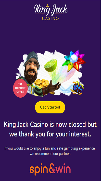 kingjackcasino home mobile
