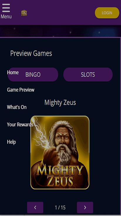 kingjackpot game mobile