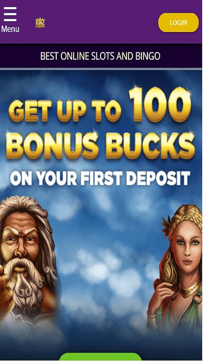 kingjackpot home mobile