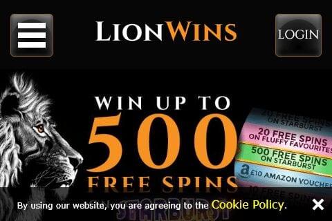 Lion Wins front page