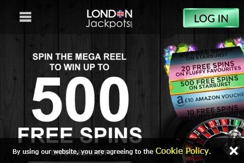 London Jackpots Image