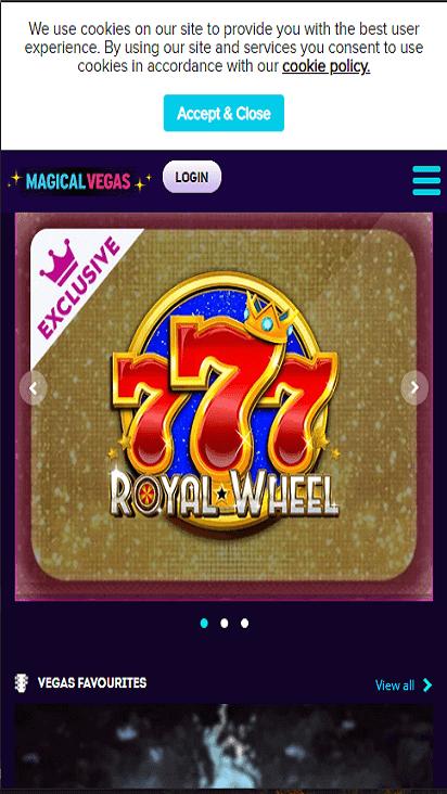 magicalvegas game mobile