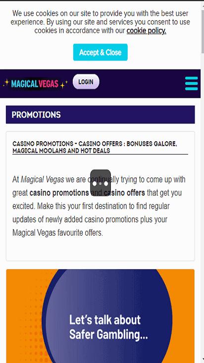magicalvegas pomo mobile
