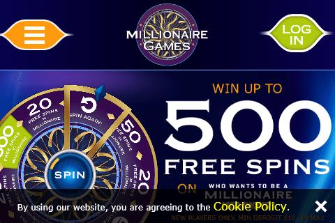 Millionaire Games front image