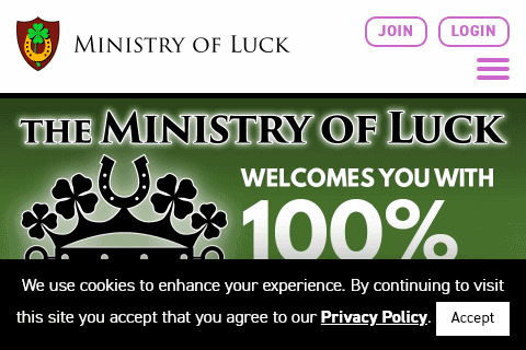 Ministry of Luck Home