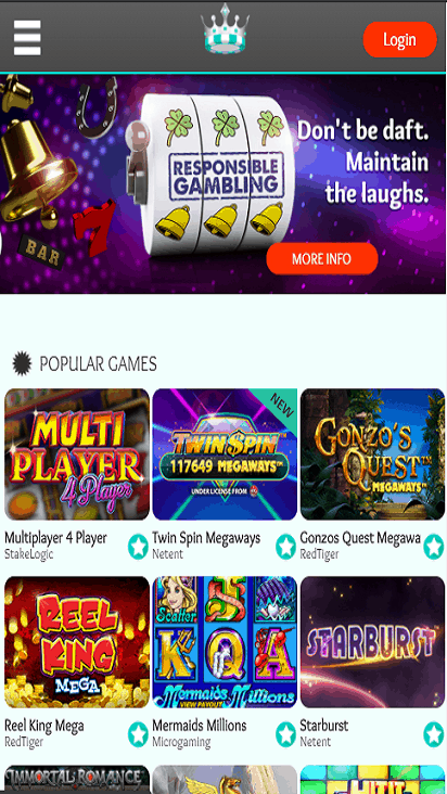 myjackpotcasino home mobile