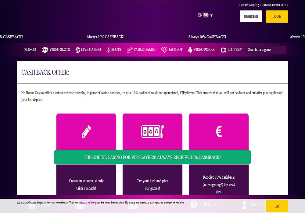 All British Casino promotions