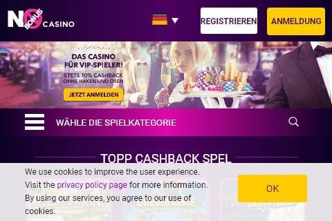 no bonus casino front image
