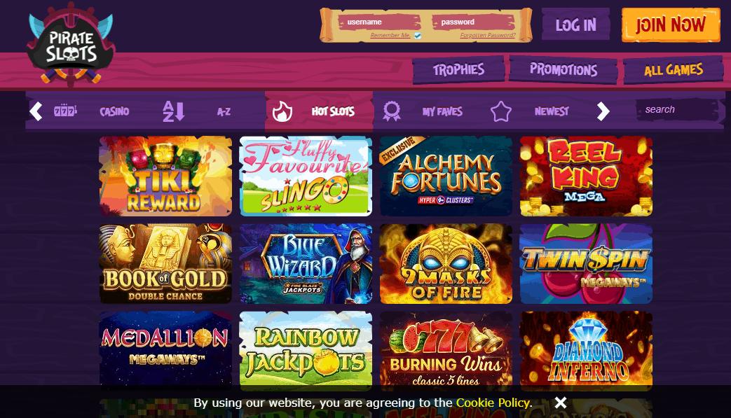 pirate slots Game