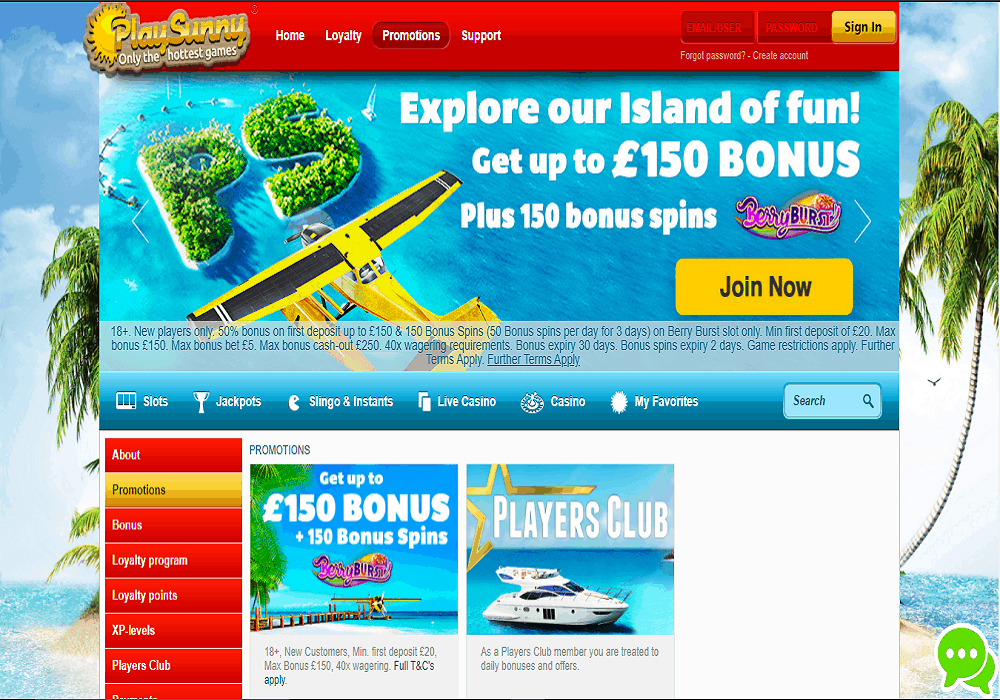bingocams promotions page