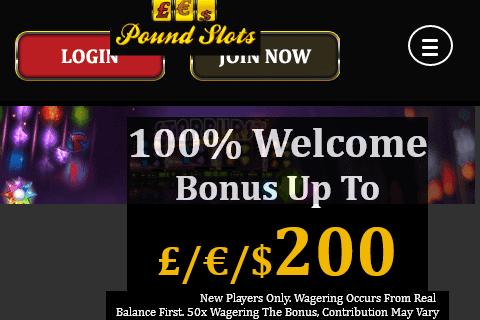 Pound Slots Home