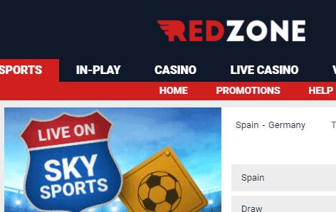 redzone sports bet front image
