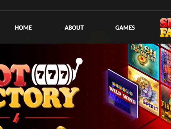 slot factory front page