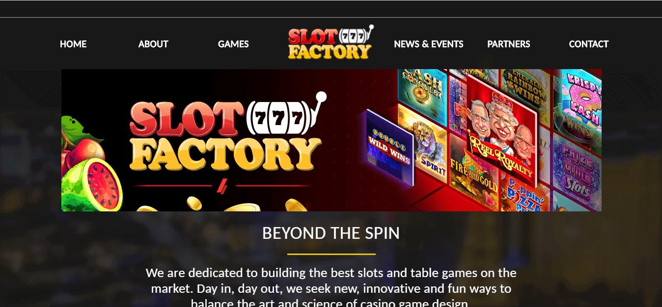 slot factory homepage