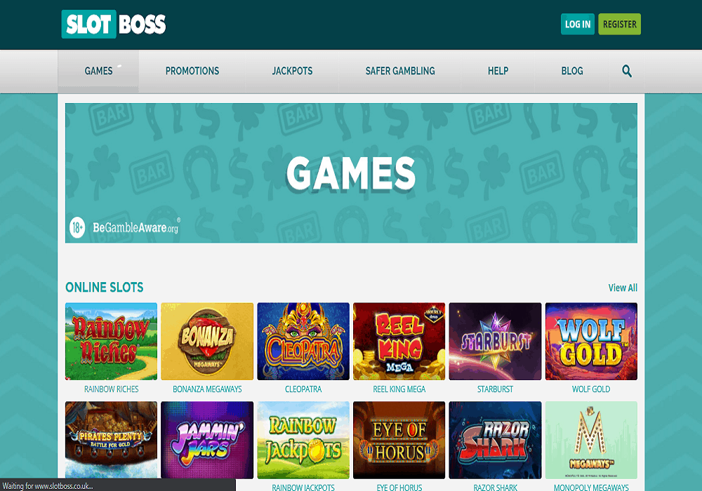 Pink Casino games page