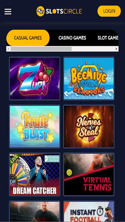 slotscircle game mobile