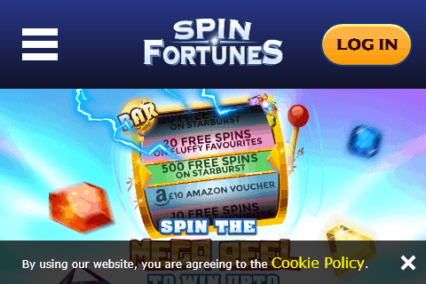 Spin Fortunes Home