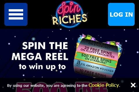 spin riches front image