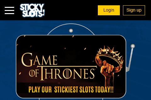 Sticky Slots Home