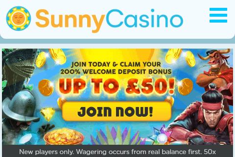 Sunny Casino  Home