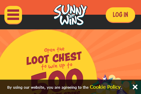 Sunny Wins Front page