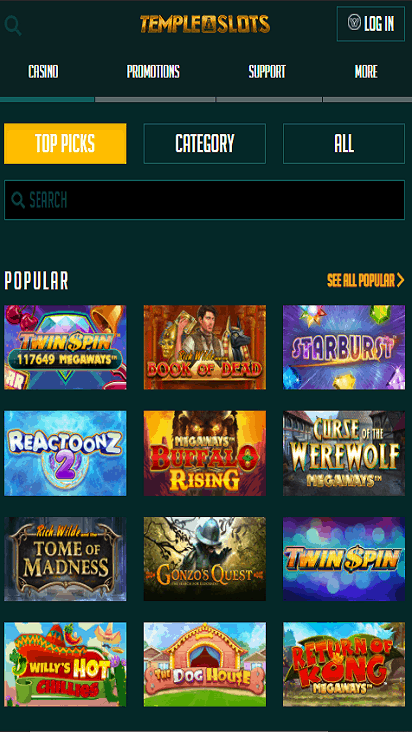 templeslots game mobile