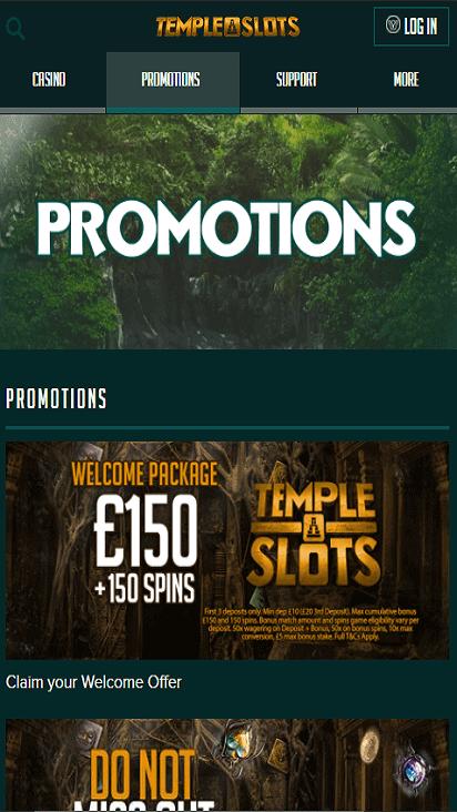 templeslots pomotion mobile