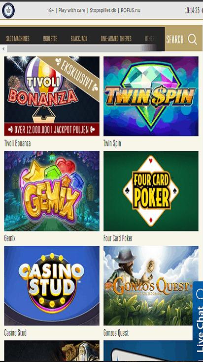 tivolicasino game mobile