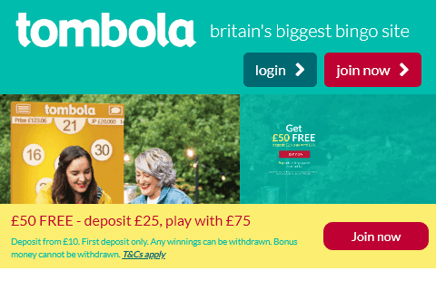 tombola front image