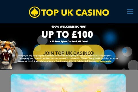 Top UK Casino Home