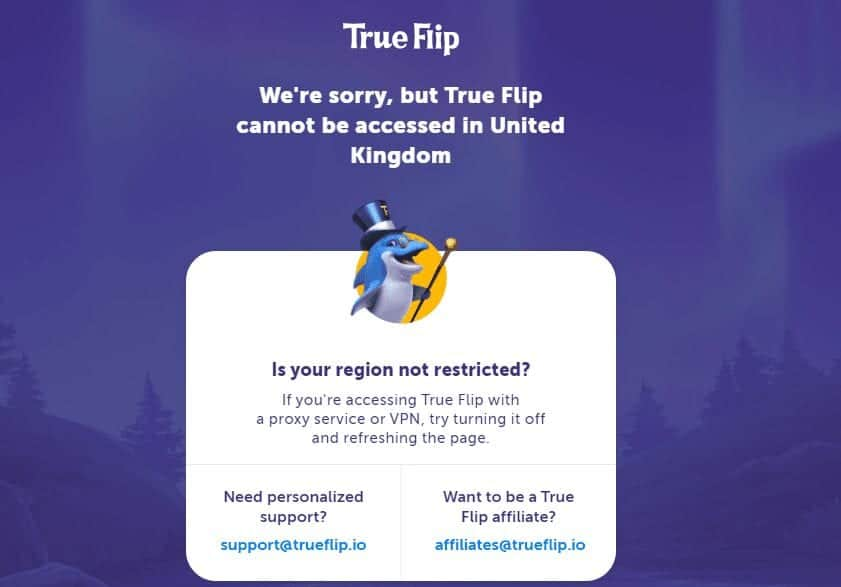 true flip home (restriction uk)