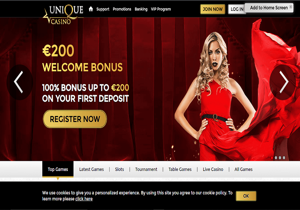one spin home page