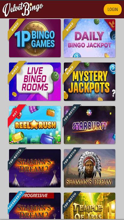 velvetbingo game mobile
