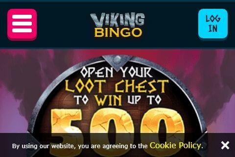 Viking Bingo home