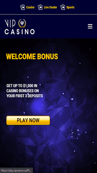 vipcasino home mobile