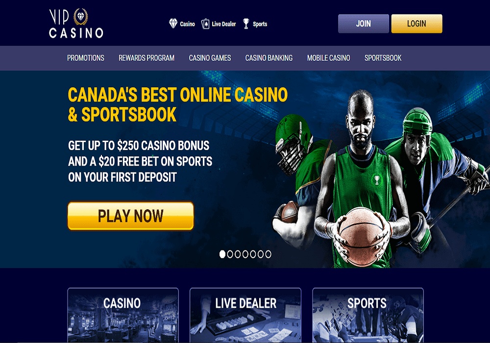 Bronze Casino home page