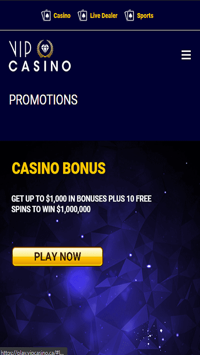 vipcasino pomotion mobile