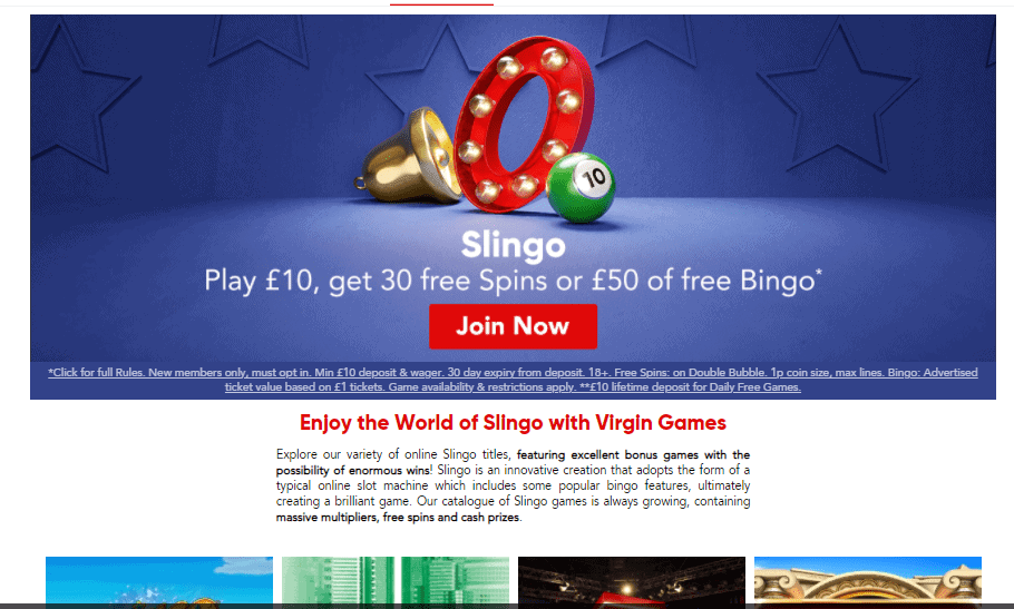 virgingames promotion