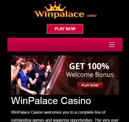 win palace casino Image
